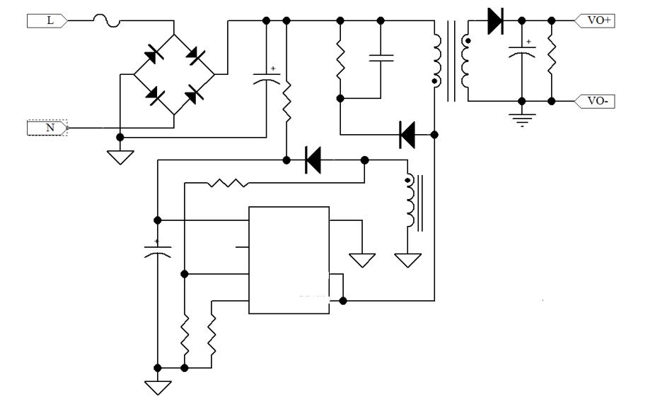 48VPOE隔离开关电源方案
